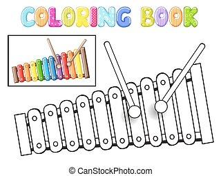xilofono, coloritura