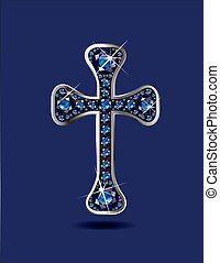 zaffiri, cristiano, croce