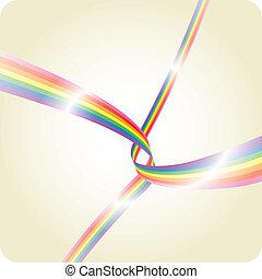 zebrato, arcobaleno