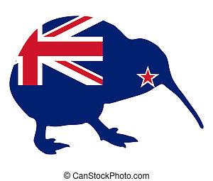zelanda, nuovo, kiwi