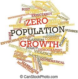 zero, crescita, popolazione