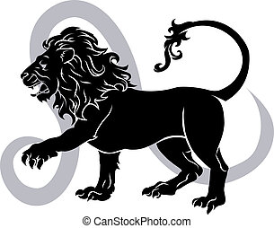 zodiaco, segnale oroscopo, leo, astrologia