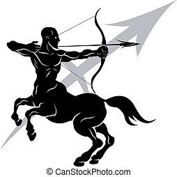 zodiaco, segno, sagittario, oroscopo, astrologia