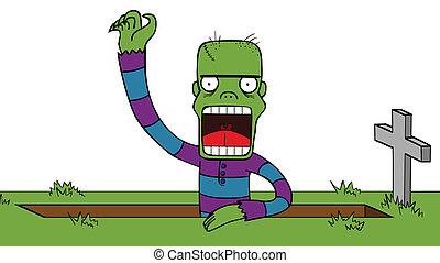 zombie, destarsi