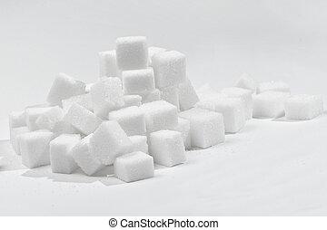 zucchero, 2, cubi