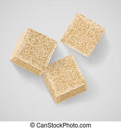 zucchero marrone
